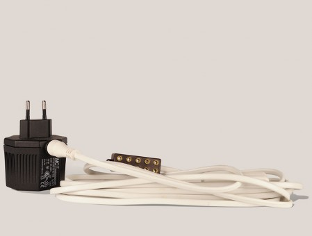 Elektrokabel mit Trafo für Miniatur