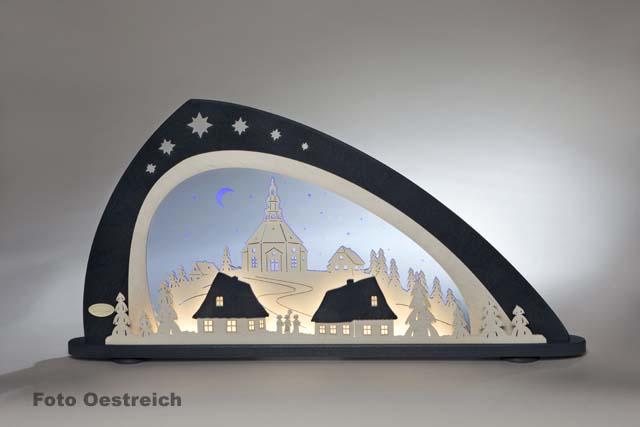 Schwibbogen 50cm Berlin Brandenburg Gate Tower Erzgebirge Lights Arch