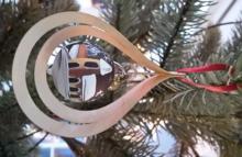 Tree decoration glassball Church, 3D