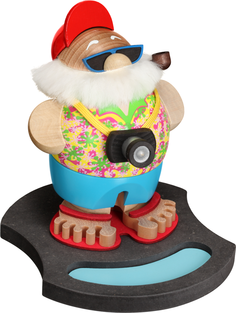 Display Pool für Kugelräucherfigur Nikolaus incognito **Neu 2016**