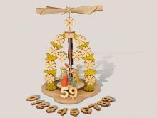 Geburtstagspyramide **Neu 2015**