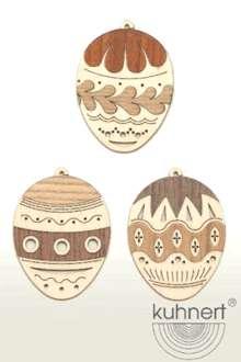 Tree Decoration Easter Eggs Set of 6pcs