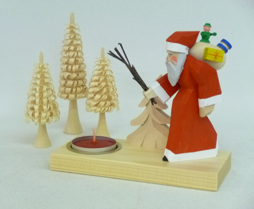 Teelichhalter Weihnachtsmann **Neu 2016**