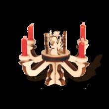 Mini angel candlesticks