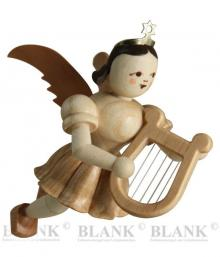 Suspension angel with lyre