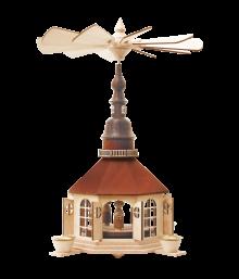 Pyramid Seiffen church