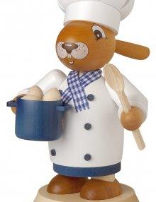 smoker rabbit cook, big