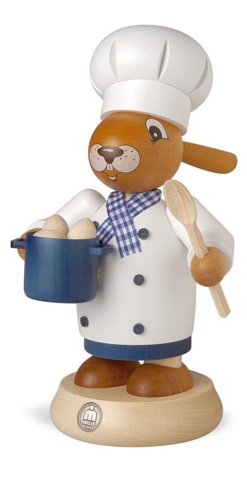 smoker rabbit cook, big