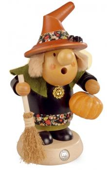 """Incense Smoker """"Halloween Witch with Pumpkin"""""""