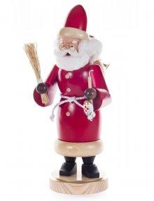 Smoking man Santa Claus