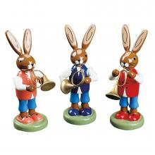 rabbit trio colored