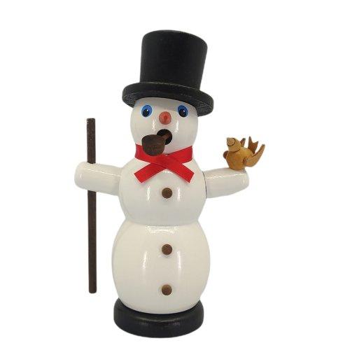 Smoker snowman, colored