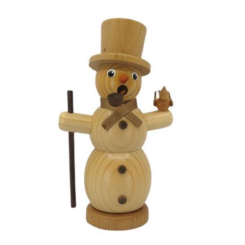 Smoker snowman nature
