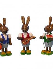Easter rabbit trio