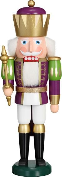 Nutcracker King purple-white, 40 cm