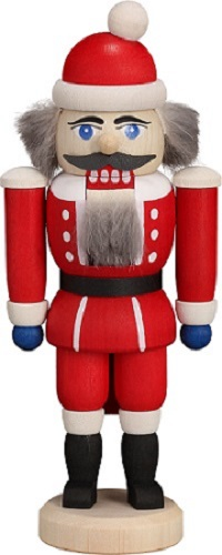 Nutcracker Santa Claus red, 14 cm