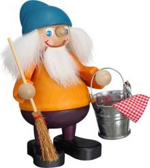 Incense Smoker Cleaning Brownie, 15 cm
