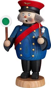 Incense Smoker Railwayman, 18 cm