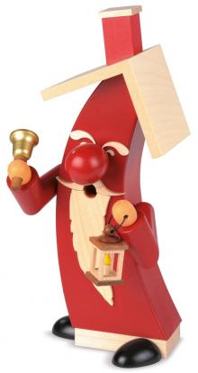 Smoke figure Santa Claus