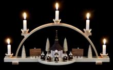 Candle Arch Carolers, natural