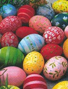 Napkins Colourful eggs