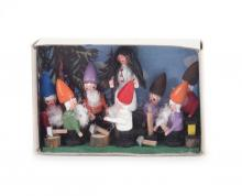 Matchbox Snow White and the 7 dwarfs