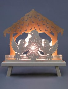 Room light bird house