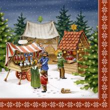 Napkins Christmas fair