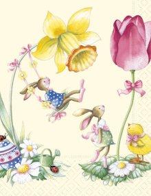 Napkins In spring