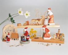 Weihnachtsmann mit Spielzeug