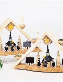 Light Arch carolers