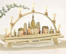 4 clip-on stars for candle arches