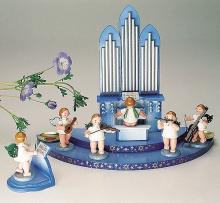 angel conductors with lectern