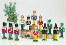 Miniature Nutcracker Danish Guards