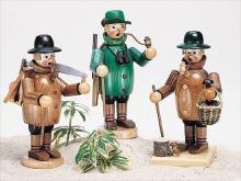 smoker mushroom pickers