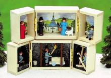 Miniature shrine Seiffen village