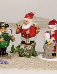 Smoker Santa Claus with gifts