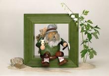 Medium green frame