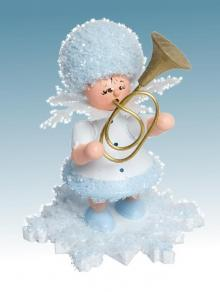 Snow Maiden with tenorhorn