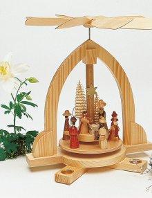 Pyramid Nativity, nature