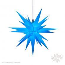 Herrenhuter plastic Christmas Stars 68cm, blue