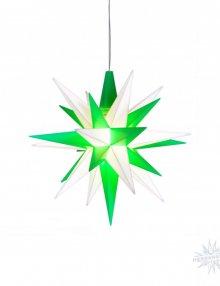 Herrnhuter Star plastic 68cm green / white