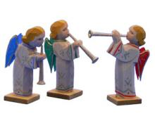 Angel trio with flute