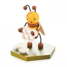 Collectible Figure Bee with Honeycomb