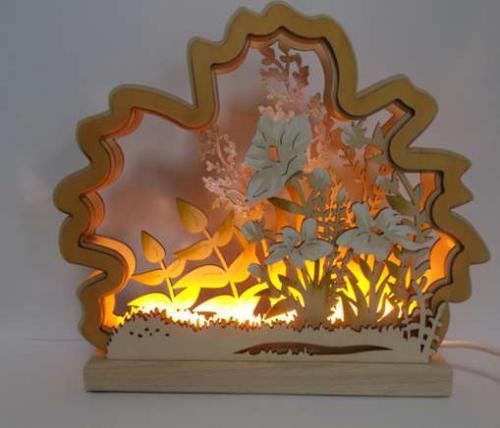 Romantic Light Flower Meadow