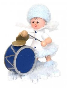 Snowflake with Bass Drum,