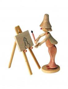Wilhelm Busch Figure - Painter Klecksel