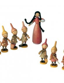 Wilhelm Busch figure - Snow White group