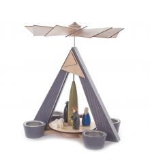 Tealight Pyramid Jesus Birth