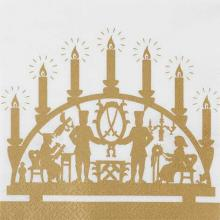 "Napkins, design ""golden Arches"""